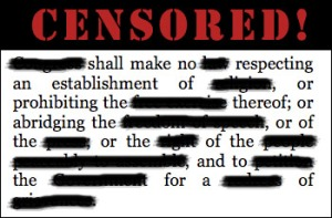 censored-first-amendment